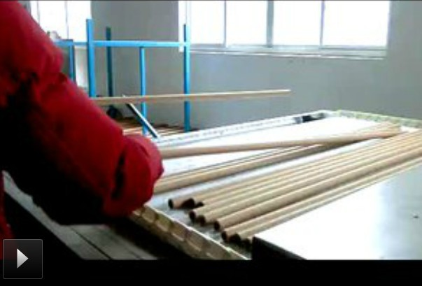 鑭泰微波-化工(紙管)烘干操作流程
