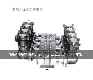 多岐8连管式防暴型电磁阀,金子M15G电磁阀