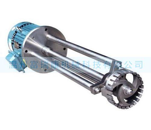卫生级全不锈钢WRL系列高速乳化机