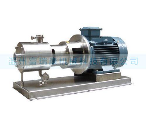 温州富瑞康SRH3型三级乳化泵