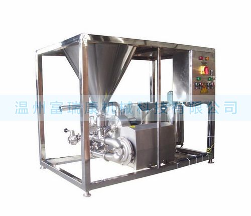温州富瑞康新一代高效混合均质乳化机