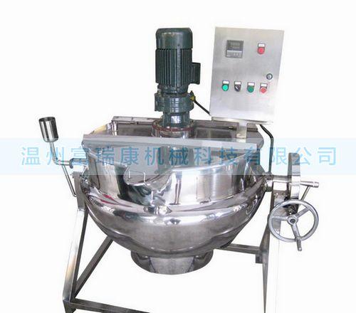 富瑞康QJ系列不銹鋼可傾式夾層鍋