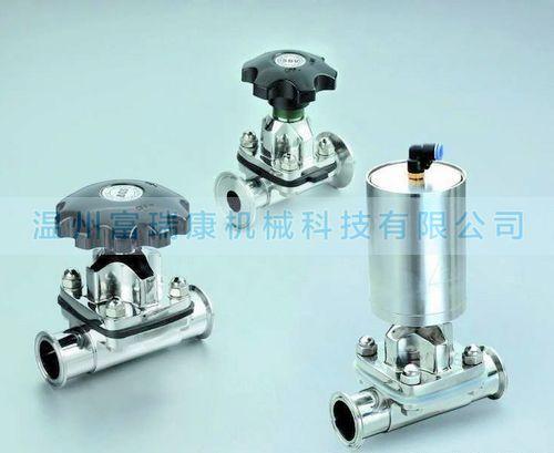 供应卫生级不锈钢隔膜阀