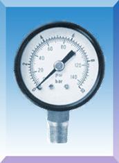不锈钢壳普通压力表Y-50/Y60 /Y75/Y100/Y150