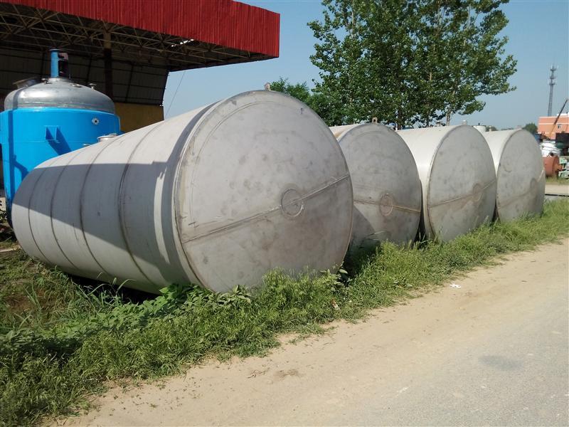 二手30吨不锈钢储罐  二手不锈钢储罐