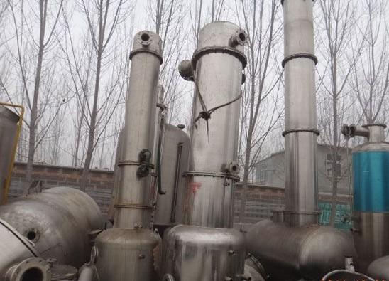 二手制药厂浓缩外循环蒸发器设备