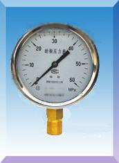 抗震压力表型号规格