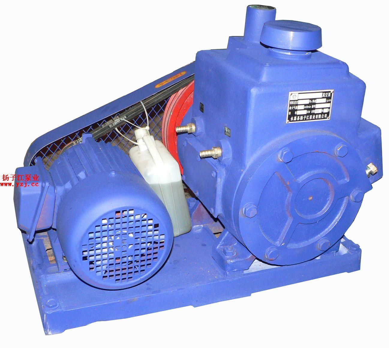 真空泵:2X型双级旋片式真空泵