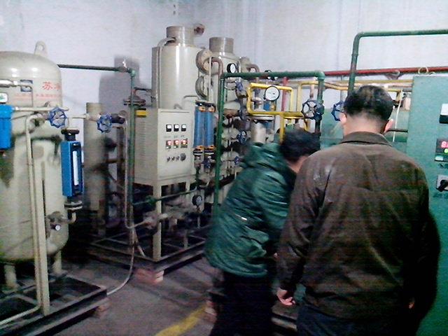 山東鋁材制氮機維修