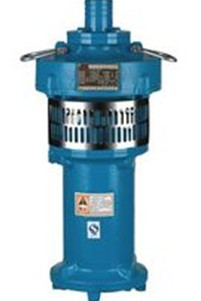 QY型充油式潜水泵