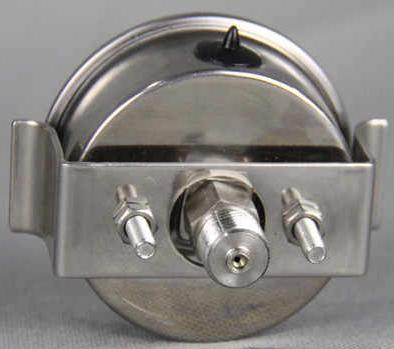 卡箍安装耐震压力表