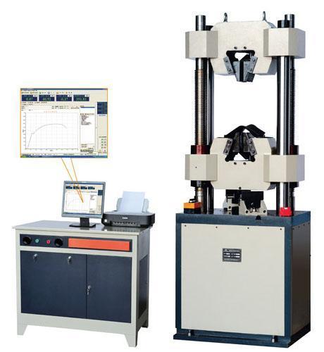 测试机之WEW系列微机屏显式液压全能测试机