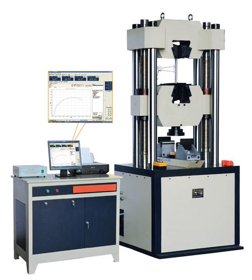 测试机之WAW系列微机掌握电液伺服液压全能测试机