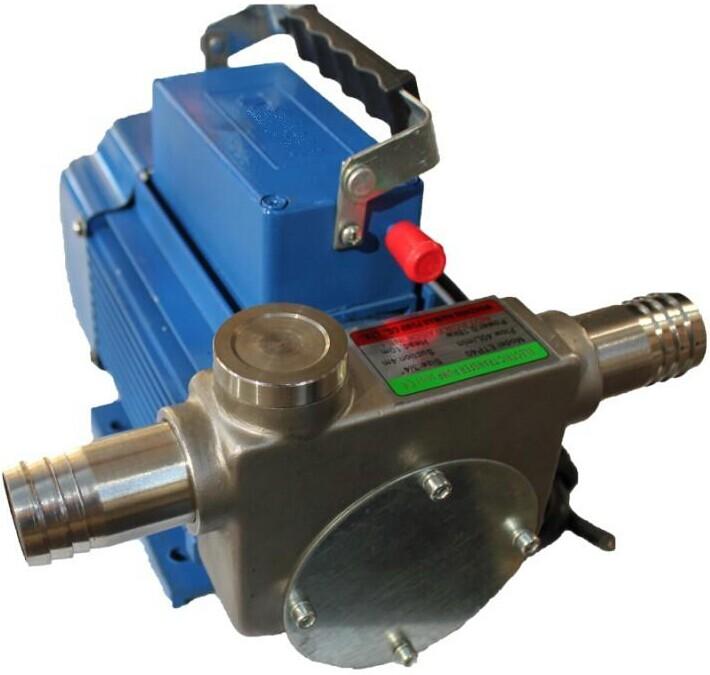 油泵 不锈钢两相防爆电动油泵DYB-80型