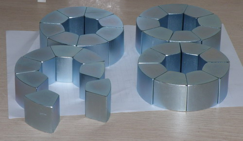 工厂供应双稳态电磁阀用强力磁铁钕铁硼,磁钢