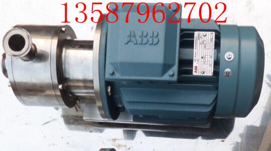 卫生级乳化泵,管线式乳化泵,高剪切均质乳化泵