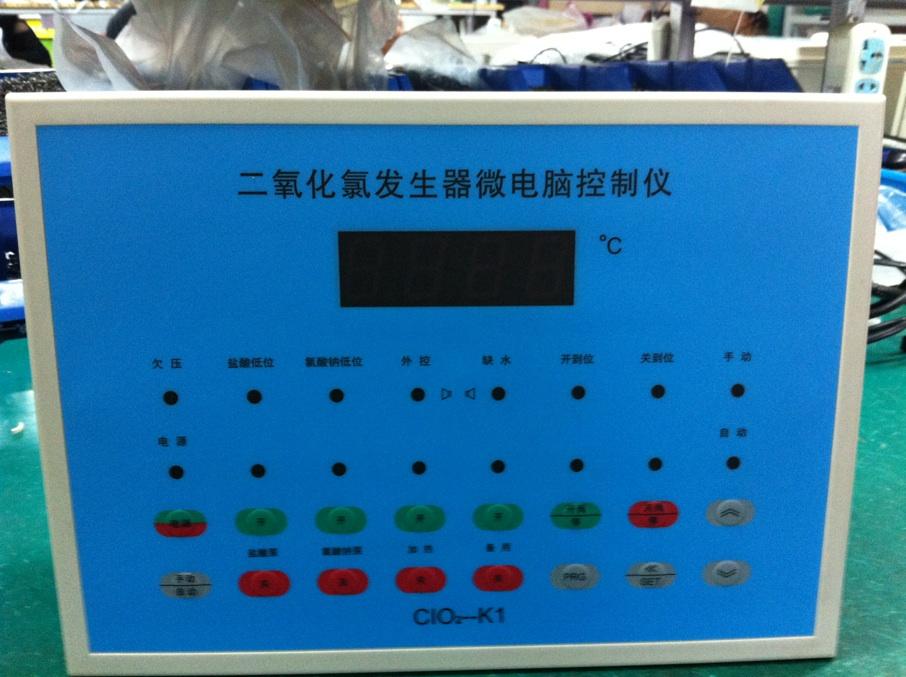 二氧化氯发生器微电脑控制仪,二氧化氯发生器控制器,CLO2-K1