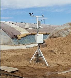 智能农业大棚气象监测站