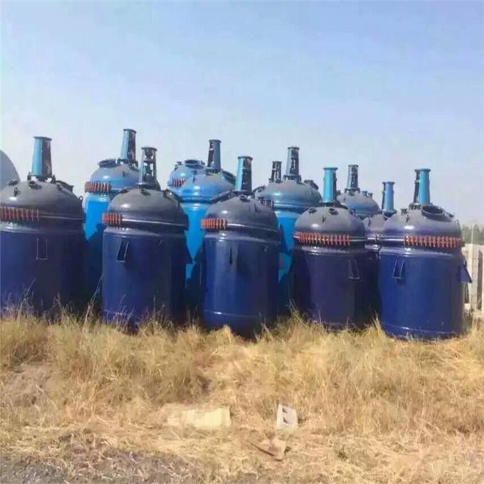 二手反应釜 出售0.5吨-18吨搪瓷反应釜