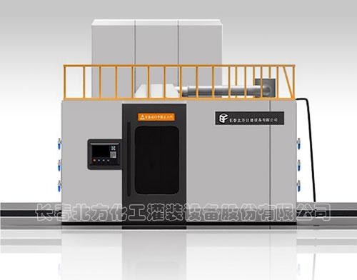 60L-200L視覺尋址集約型機器人灌裝線
