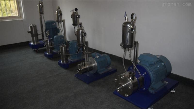 GMD2000纳米湿法管线式粉碎机