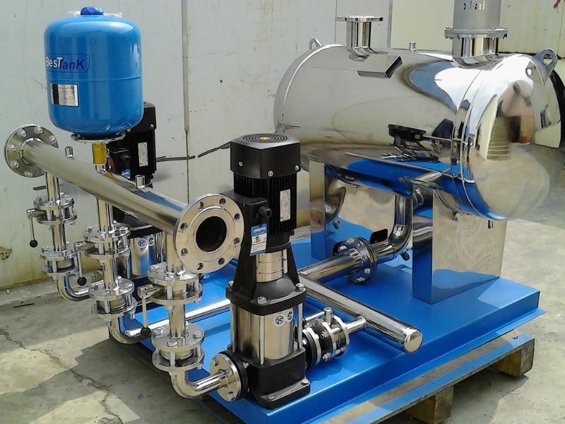 智能箱式泵站:箱式变频供水(箱泵一体化供水设备)