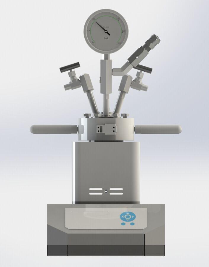 可定时数显电加热快开式微型磁力反应釜