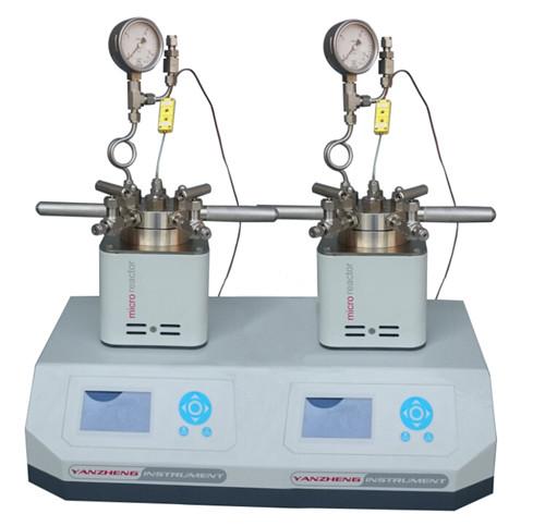 两位平行磁力搅拌智能微型反应釜