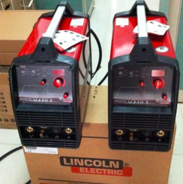 林肯原装进口脉冲氩弧焊机V270-TP便携式氩弧焊机