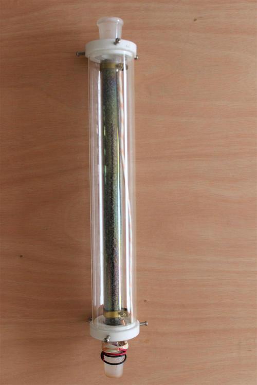 透明镀膜精馏柱