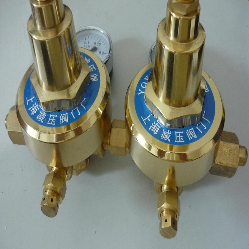 上海繁瑞氧气减压阀YQY-11氧气减压表YQY11氧气减压器YQY