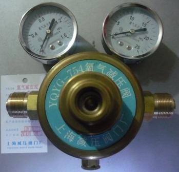 上海繁瑞氧气减压表YQYG-754氧气减压阀YQYG754氧气减压器YQYG