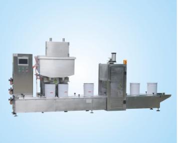 供应集瀚设备工业漆半动灌装线带压盖DCSZD30G2GY-BJ