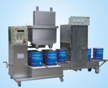 供应集瀚设备稀释剂防爆自动灌装线DCSZD30G2GYFB-I