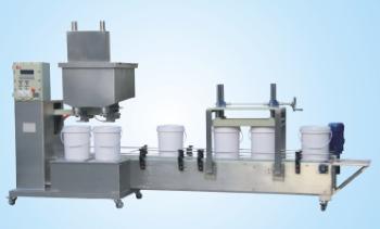 供应集瀚设备双头防爆液体灌装线DCSZD30G2GYFB-II