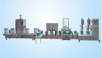 供应集瀚自动化设备地板漆自动灌装线DCSZD(1-20)GFYFB