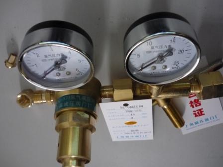 上海繁瑞氢气钢瓶减压表YQQ-370氢气阀YQQ氢气减压器