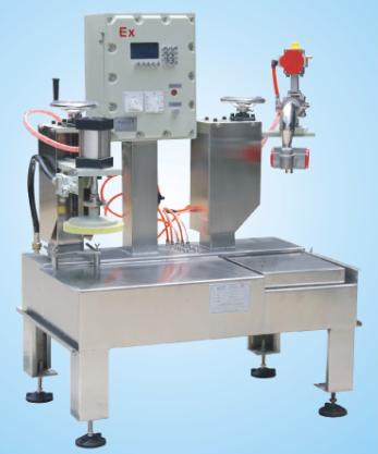 供应集瀚自动化设备DCS30AYFB油漆灌装机带自动压盖机
