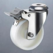 兄弟供应不锈钢3-8寸脚轮,不锈钢支架脚轮耐用抗腐蚀