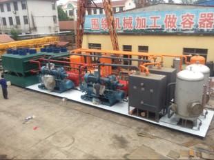 油气田轻烃回收装置