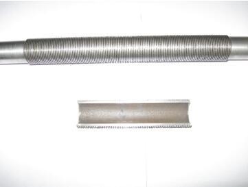 机加工型高通量管(即T型管)