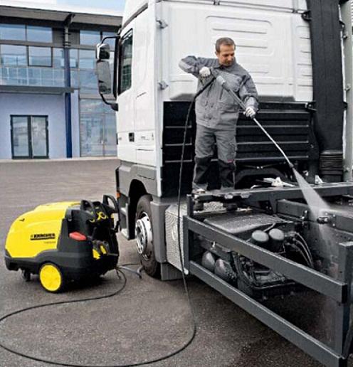 制造车间设备维修零部件油污热水清洗机HDS698C