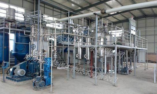 亚临界萃取灵芝孢子油成套设备生产线