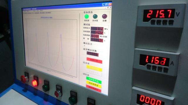 滅火器水壓檢測設備|筒體水壓爆破試驗機|氣瓶水壓爆破試驗機