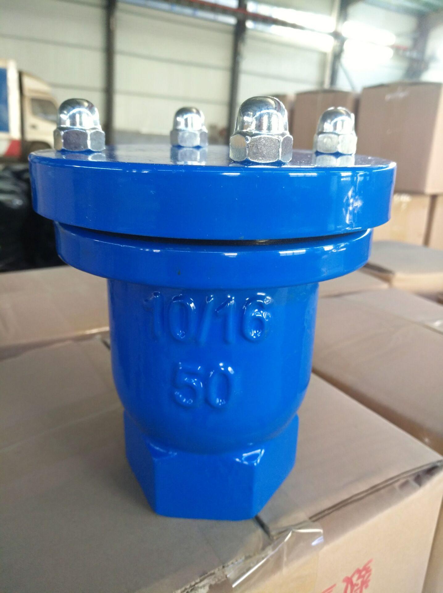 河北利创批发 DN25-DN50 QB1丝扣快速排气阀
