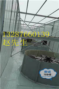 方形无电机节能喷雾冷却塔WPTL150富源奥瑞喷雾冷却塔厂家