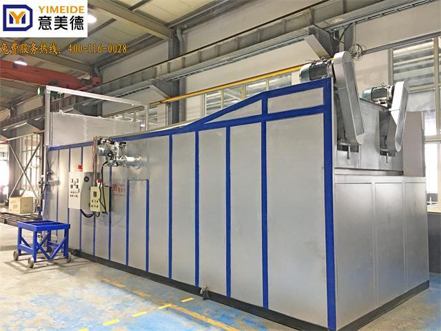 铝材时效炉,双开门四框料时效炉,适用于800吨以下挤压生产线