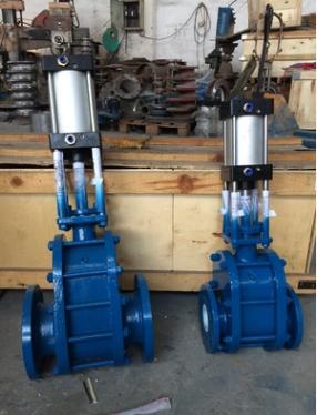 气动耐磨进料阀NMZ644H-10C气动耐磨闸阀