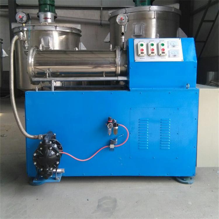 出售高效率200L卧式砂磨机/工业生产用不锈钢卧式砂磨机