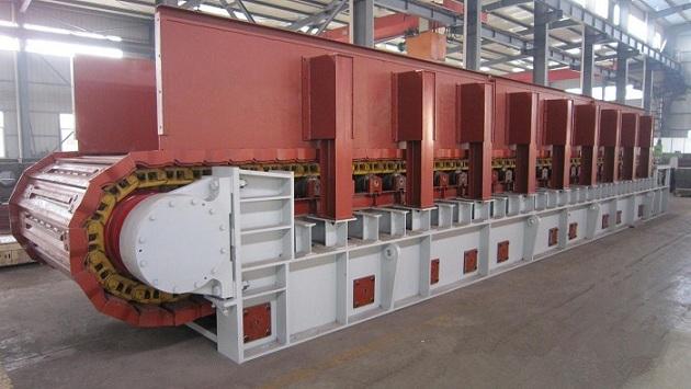 联源公司重型板式喂料机主要部件描述